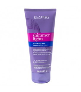Clairol Shimmer Lights Violet Toning Mask - 200ml