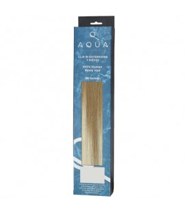 """AQUA Hair Extensions Straight Clip In 20"""" 6/60 Balayage"""