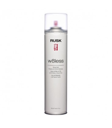 Rusk W8Less Strong Hold Hairspray - 359mL