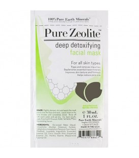 Pure Zeolite Deep Detoxifying Facial Mask