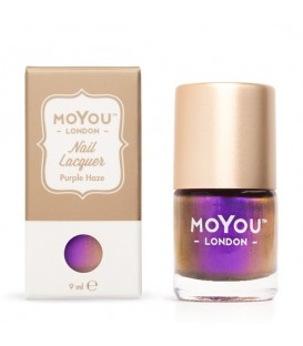 MoYou London Purple Haze Nail Polish