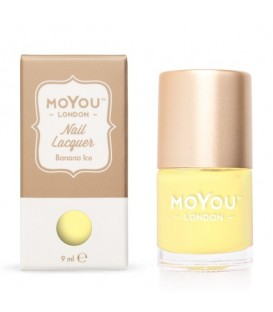 MoYou London Banana Ice Nail Polish