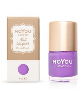 MoYou London Purple Rain Nail Polish
