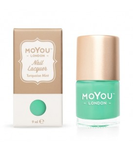 MoYou London Turquiose Mint Nail Polish