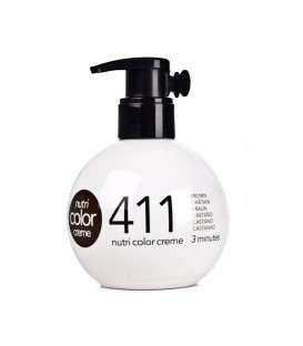 OUT OF STOCK -- Revlon Nutri Color Creme 411 Cold Brown - 250ml
