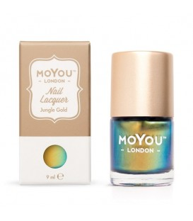 MoYou London Jungle Gold Nail Polish