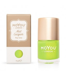 MoYou London Key Lime Nail Polish