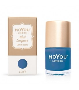 MoYou London Denim Jeans Nail Polish