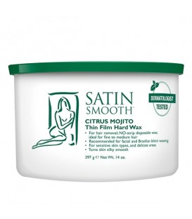 Satin Smooth Citrus Mojito Thin Film Hard Wax - 397g - SSW14MTG