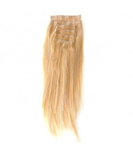 Hairworx Clip on Extensions Medium Blonde 6pc - 20""