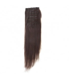 Hairworx Clip on Extensions Dark Brown 8pc - 18""