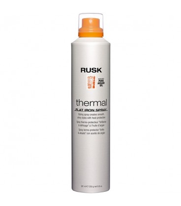 Rusk Thermal Flat Iron Spray - 281ml -- OUT OF STOCK