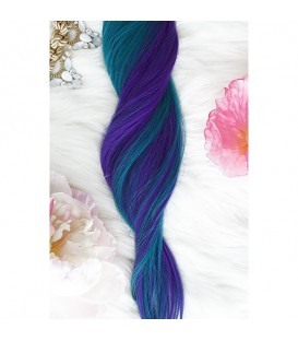 Unicorn Hair Extensions Mermaid Mix - 16″