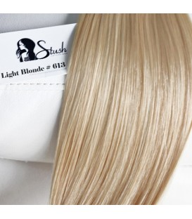 """STUSH Peruvian Virgin Remy Clip-ins Light Blonde 18"""" -- OUT OF STOCK"""