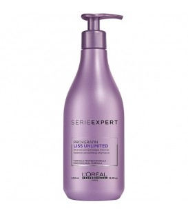 L'Oréal Serie Expert Liss Unlimited Shampoo - 500ml