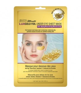Satin Smooth LuxGold Foil Gold Under Eye Sheet Mask - LUXGOLD