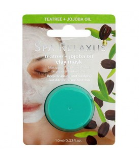 Relaxus Tea tree & Jojoba Oil Clay Mask - 10ml