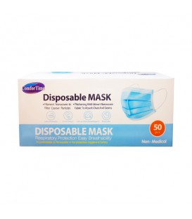 Disposable Protective Masks - 50pc