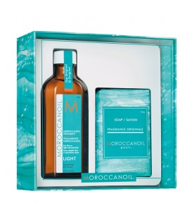 Moroccanoil Cleanse & Style Duo Light