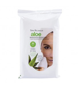 Relaxus Beauty Aloe Botanical Cleansing Wipes