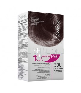 BioNike Shine On FAST Hair Colouring Treatment - 300 Dark Brown