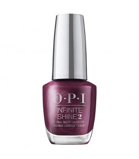 OPI Infinite Shine Dressed to the Wines